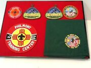 Lot / Group Of 6 Items - Philmont Patches And Nc - Boy Scout Bsa Gandw/9-1