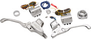 Performance Machine Hand Control Complete Sets Chrome Cable Clutch 0062-4019-ch