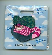 Wdi Disney Alice In Wonderland Cheshire Cat Nap Cats Jumbo Le 300 Pin And Card