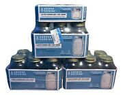 Cannin Jars Anchor Hocking 18 Jars 1 Quart And 6 - 1/2 Pint New Packaged Sealed