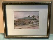 Unsigned Australian School Watercolour Framed Painting