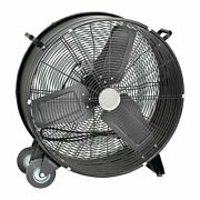 Central Machinery 24 In. High Velocity Shop Fan Usa Seller Ship From Usa