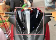 Motorcycle Accessories Batman Style Shield For Yamaha Xmax300 Clear Black Color