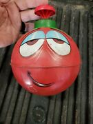 Vintage 1950's Chein Burlington Spinning Top Bless This Home