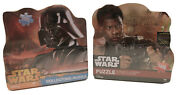 2 Disney Star Wars Collectors Tins• 1000 Piece Jigsaw Puzzle Vader Force Awakens