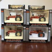 Set Of 6 Collectible Speccast Tractor Ltd Edition Allis-chalmers Silver Bullet