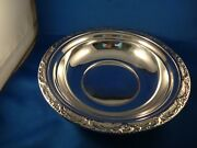 Reed And Barton 9 Sterling Bowl, Burgundy, Super Condition, Original Owner