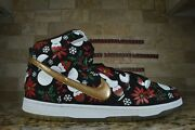 Nike Dunk High Pro Sb Ugly Christmas Sweater Black Concepts 2013 Size 11 Special