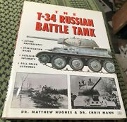 T-34 Russian Battle Tank Ford Mann Hughes 1999 Wwii Free Usa Shipping