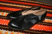 Nos Unissued Post Wwii Early Vietnam Low Quarter Shoes Black Sz 14 A 1957