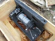 Nos Mile Marker 10500lb Hydraulic Winch With Ecv Front Winch Plate Hmmwv M1151