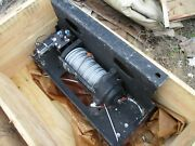 Nos Mile Marker 10,500lb Hydraulic Winch With Ecv Front Winch Plate, Hmmwv M1151