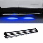 For Jeep Cherokee 2014-2020 Black Running Board Side Step Nerf Bar Pedal 2pcs