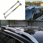 Fit For Jeep Cherokee 2014-2020 Silver Steel Car Top Roof Cargo Rack Cross Bars