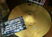 Drum Plate Signed By Jim Lee And John Dolmayan System Of A Down Drummer With Coa
