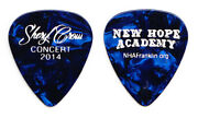 Sheryl Crow New Hope Academy Blue Pearl Guitar Pick - 2014 Concerts