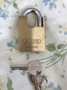 Abus Lock 65cs/40 For Shed Gate Container Bike Bicycle Chain Vs Master Key