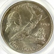 Anacs Ms63 - 1969 New Zealand Dollar 533
