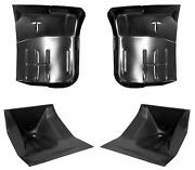 Front Cab Mount And Floor Pan Kit Fits 67-79 Ford Pickup F100 F150 Weld On Style