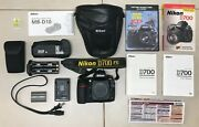 Nikon D700 Camera Body With Full Accessories Dvd Guide And Book