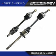 Front Left And Right Cv Axle Shaft For 2002-05 2006 Nissan Altima 2.5l Auto Trans.