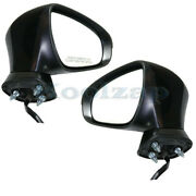 For 14-17 Ct200h Rear View Mirror Assembly Power Heated W/signal Lamp Set Pair