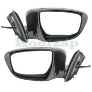 For 16-20 Murano S/sv Rear View Mirror Assembly Power W/turn Signal Set Pair