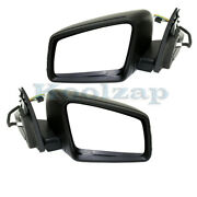 12-14 Benz C-class Mirror Power Heat W/memory And Signal And Puddle Lamp Set Pair