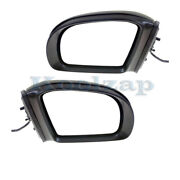 06-10 Benz R-class Rear View Mirror Power Heat W/signal And Puddle Lamp Set Pair