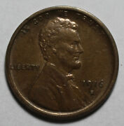 1916 S Lincoln Wheat Cent Wr398