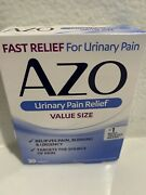 Azo Urinary Pain Relief Tablets. 30 Tablets Fast Same Day Shipping Exp 08/2022