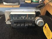 1968 Ford Mustang Am Push Button Radio With One Knob