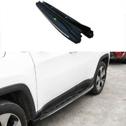 For Jeep Compass 2017-2020 Red Aluminum Side Step Running Board Nerf Bar Protect