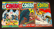 Conan The Barbarian 1970 -- Huge Lot Of 30 Bronze Age Issues -- 16 To 55