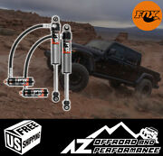 Fox Performance 2.5 Elite Series 4.5-6 Front Shocks For And03920+ Jeep Gladiator Jt