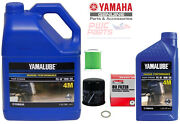 Yamaha F200b I4 Outboard Oil Change Kit 4m Fuel Filter 6p3-ws24a Lub-mrnmr-kt-10