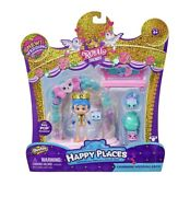 Shopkins Royal Trends Happy Places Charming Wedding Arch Set-new