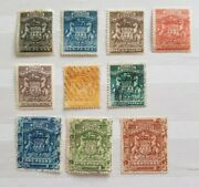 British South Africa Company-rhodesia 1892 Sg 1-13 Exc 2711mintandused Andpound10mint