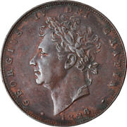 [874650] Coin Great Britain George Iv Farthing 1826 Au50-53 Copper