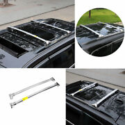 For 2011-2020 Jeep Grand Cherokee Silver Roof Rail Luggage Rack Luggage Carrier