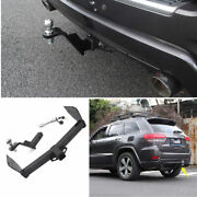 For 2011-2020 Jeep Grand Cherokee Black Car Rear Bumper Trailer Tow Hitch Hook