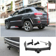 For Jeep Grand Cherokee 2011-2020 Black Car Rear Bumper Trailer Tow Hitch Hook