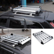 For Jeep Grand Cherokee 2011-2020 Aluminum Silver Roof Rail Luggage Rack Carrier