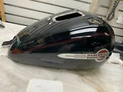 2000 Heritage Softail Gas Tank Harley Black Nice Emblems Twin Cam Factory Paint