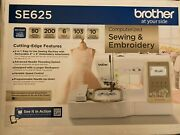 🧵 Brother Se625 Computerized Sewing And Embroidery Machine 🧵brand New--sealed🧵