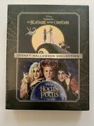 The Nightmare Before Christmas And Hocus Pocusblu-ray/dvd/digitalnew Authentic