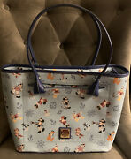 Dooney And Bourke Disney Cruise Line Mickey And Friends Tote