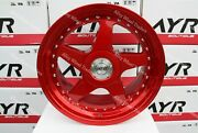 Alloy Wheels 18 04 For Bmw M3 Z3 M Z4 M Gts Coupe Cabrio Csl Wr Red