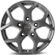 18 Cobra Gg Alloy Wheels Fit Ford Transit Crewcab Luton Chassis Cab