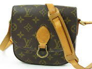 Authentic Louis Vuitton Saint Cloud Shoulder Bag Monogram France R38959